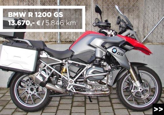 BMW R 1200 GS gebraucht im MOZ Freiburg