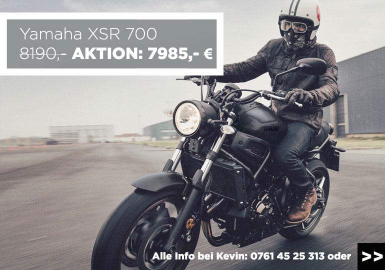 Yamaha XSR 700 zum MOZ-Aktionspreis