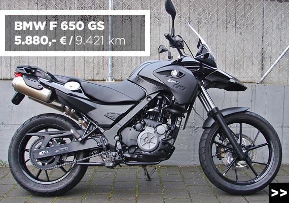 BMW D 650 GS Gebrauchtangebot im Motorradzentrum