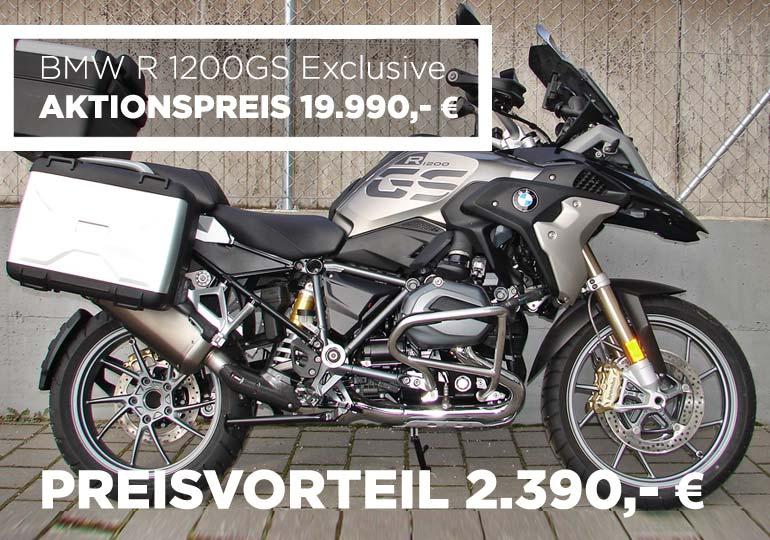 BMW 1200 GS Exclusive Angebot im MOZ Freiburg