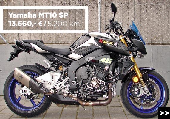 Yamaha MT10 SP Gebrauchtangebot im Motorradzentrum