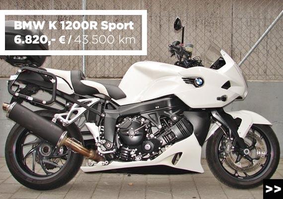 BMW K 1200 R Sport Gebrauchtmotorrad angebot im Motorradzentrum Freiburg