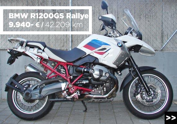 BMW R 1200 GS Rallye Gebrauchtangebot im MOZ Freiburg