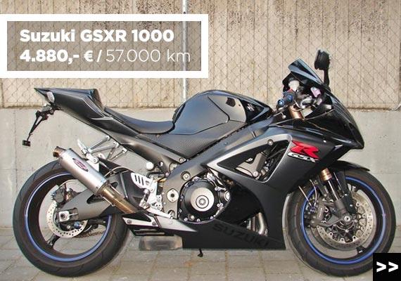 Suzuki GSXR 1000 Gebrauchtmotorrad angebot im Motorradzentrum Freiburg