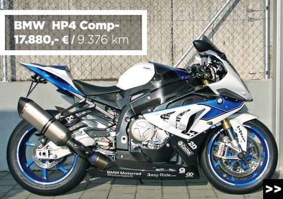 BMW HP4 Competition Gebrauchtmotorrad angebot im Motorradzentrum Freiburg
