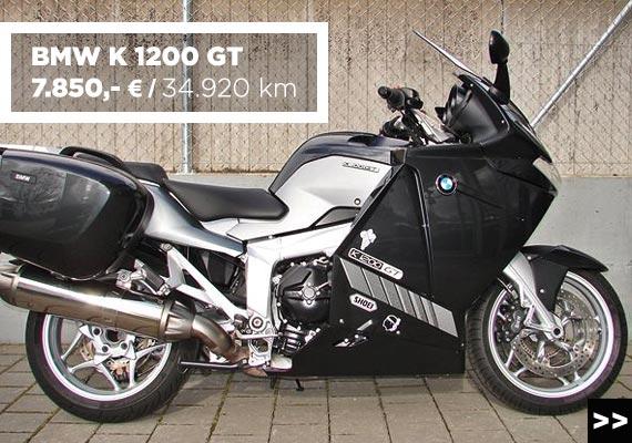 BMW K 1200 GT Gebrauchtangebot im Motorradzentrum Freiburg