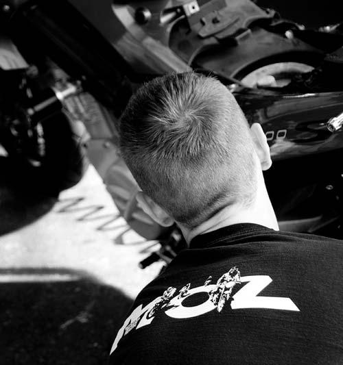 Zweiradmechaniker im MOZ Freiburg