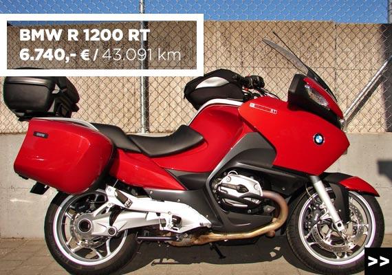 BMW R 1200 RT Gebrauchtangebot im MOZ Freiburg