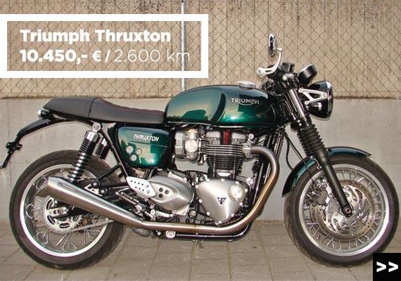 Triumph Thruxton 1200 Gebrauchtangebot im MOZ Freiburg