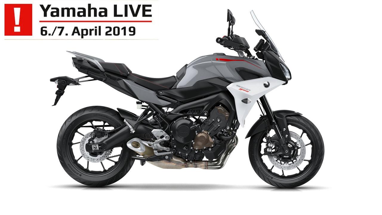 Yamaha-Live Aktionsmotorrad im MOZ Freiburg