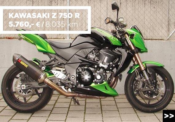 Kawasaki Z 750 R Gebrauchtangebot im MOZ Freiburg