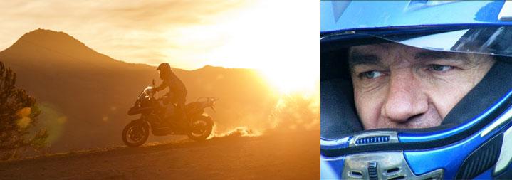 Feierabend Motorradtouren mit Bonsai im MOZ