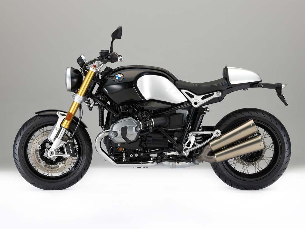 BMW RnineT Motorrad-Vermietung im MOZ