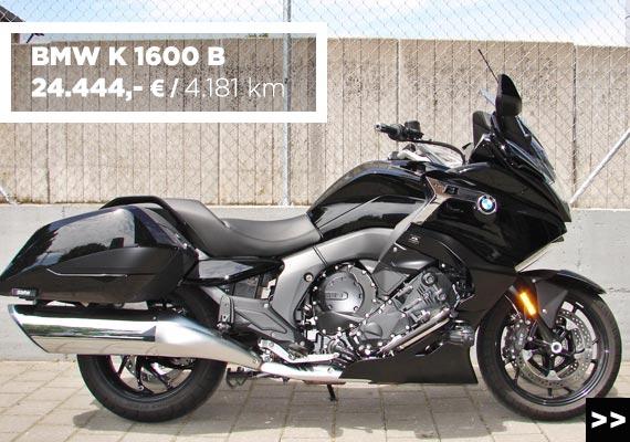 BMW K 16000 B Gebrauchtangebot im MOZ Freiburg