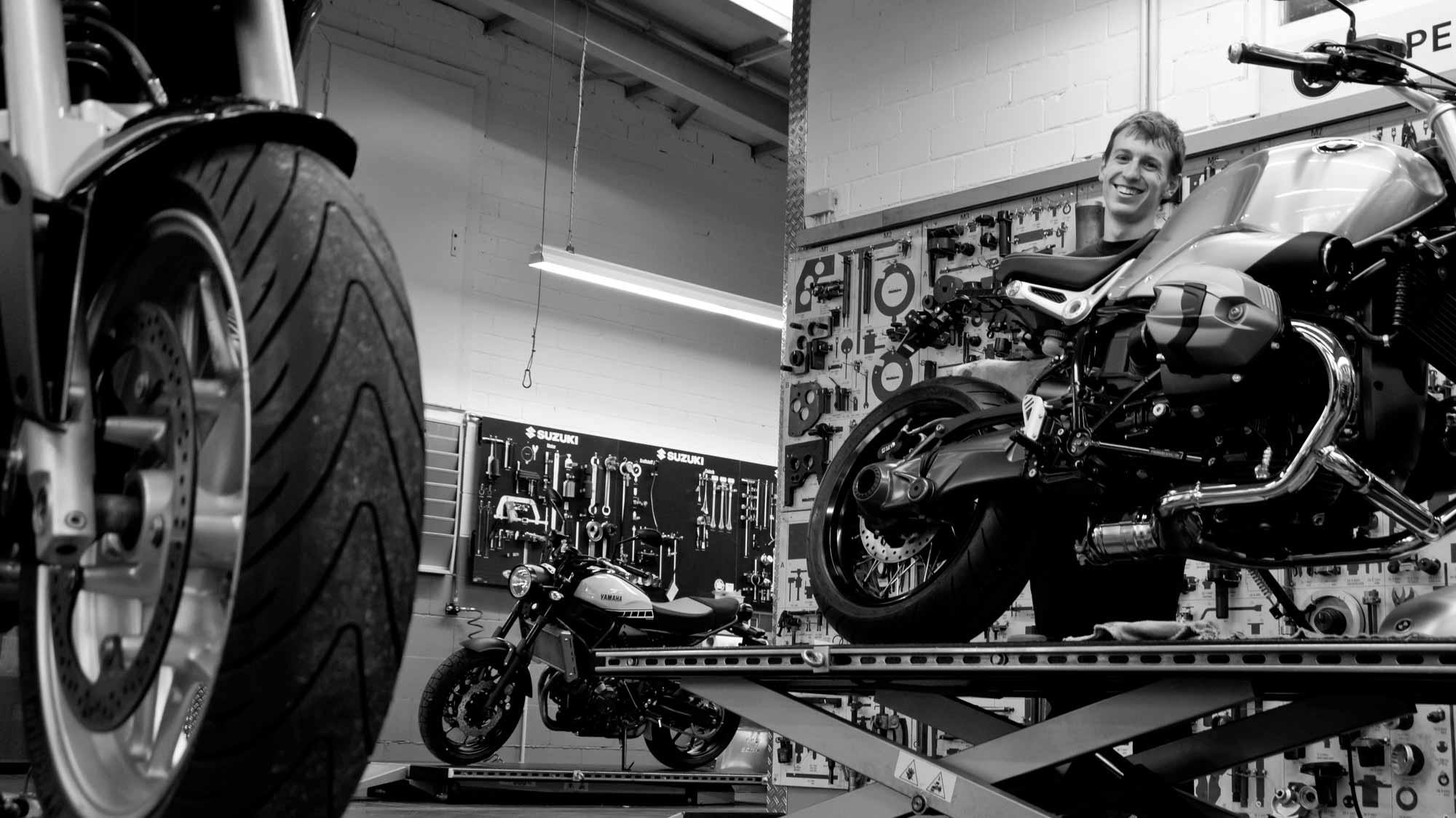 Motorradwerkstatt MOZ Freiburg