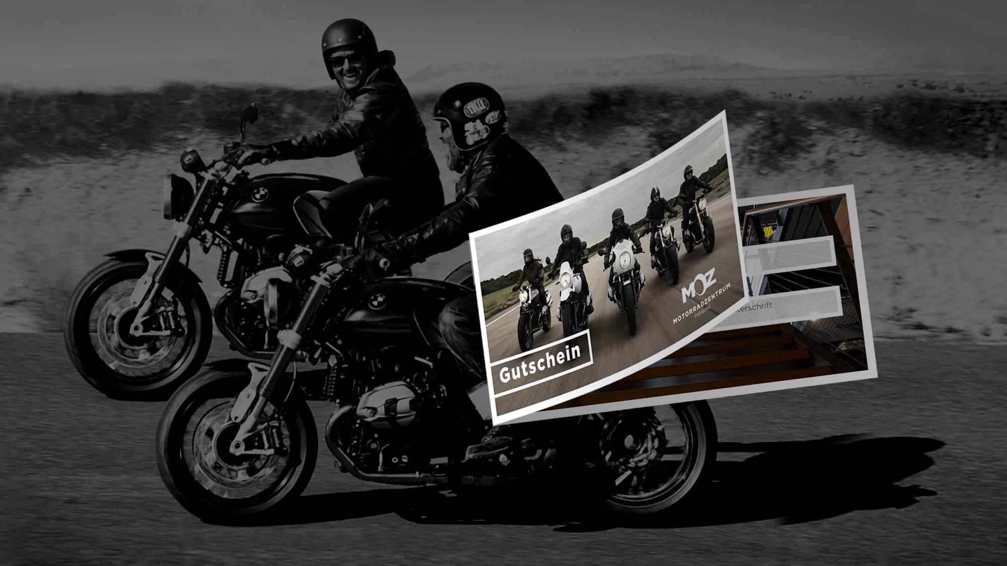 Geschenkgutscheine vom Motorrad-Zentrum Freiburg