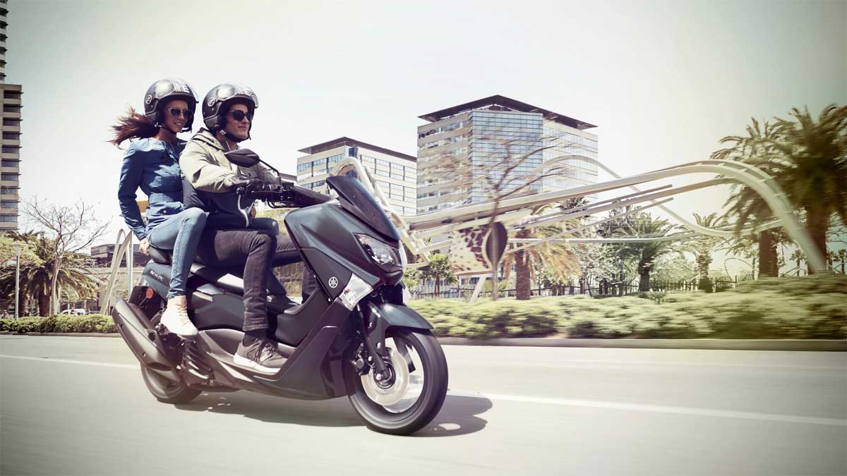 Yamaha NMAX Roller im Motorradzentrum Freiburg